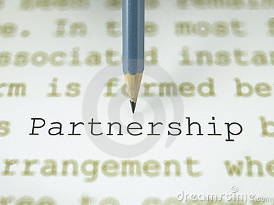The word partnership