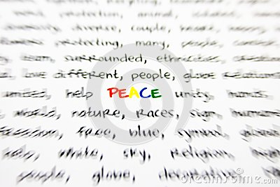 Word peace