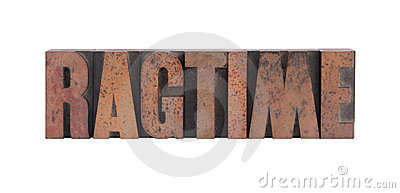The word  ragtime