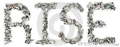 Rise - Crimped 100$ Bills