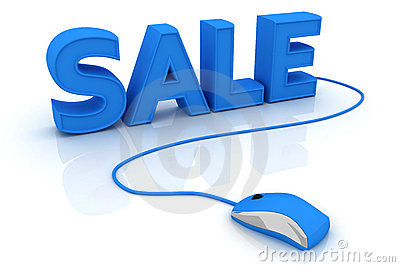 Word sale with computer mouse