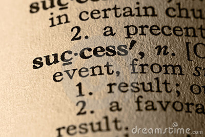 The word success