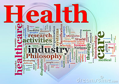 Wordcloud of Health