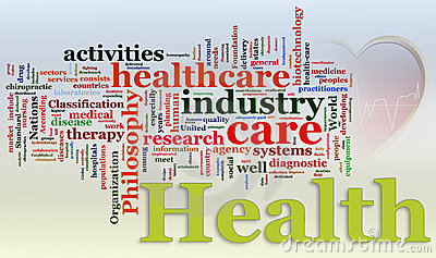 Wordcloud of Healthcare