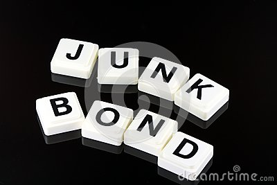The Words Junk Bond - A Term Used For Business in Finance and Stock Market Trading