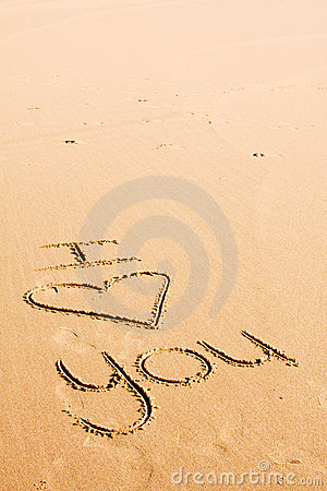 Words written in the sand