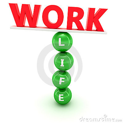 Free Work And Life Balance Royalty Free Stock Photos - 19190928