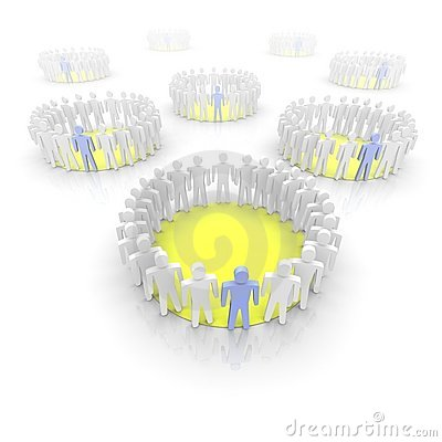 Work groups illustration
