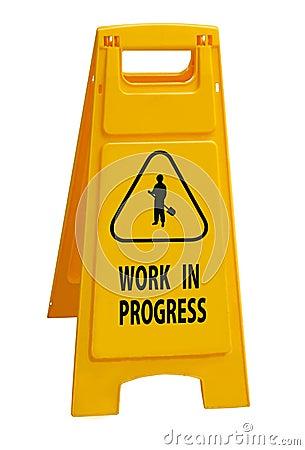 Free Work In Progress Royalty Free Stock Photos - 11188658
