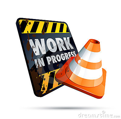 Free Work In Progress Stock Photography - 9118662