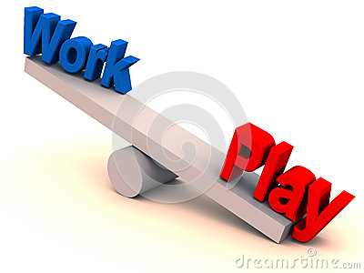 Work play balance in life