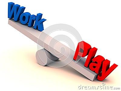 Work play balance in life