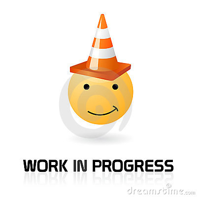 Work in progress funny symbol