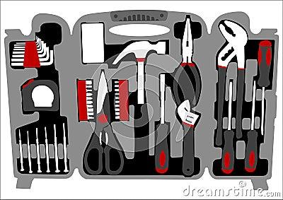 Work tools box