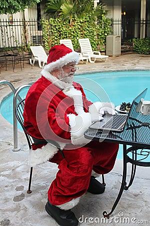 Work Vacation For Santa