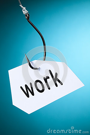 Work word on hook