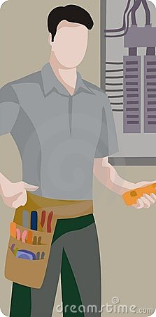Worker illustration series
