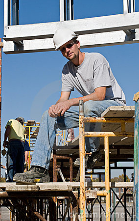 Worker Taking A Break