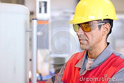 Worker In Uniform - Protective Workwear
