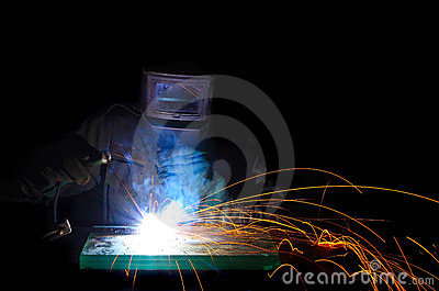 Worker weld metal