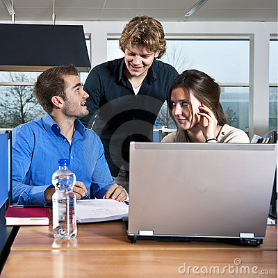 Free Workgroup Students Royalty Free Stock Image - 22029736