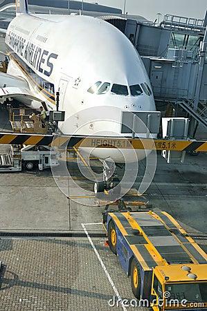 Working area in Hongkong Airport