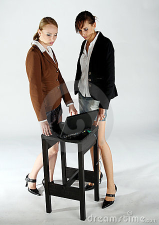 Working business girls