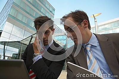 Working business men