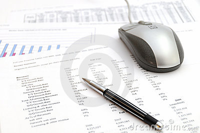 Working with financial data