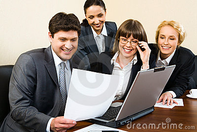 Working in a group
