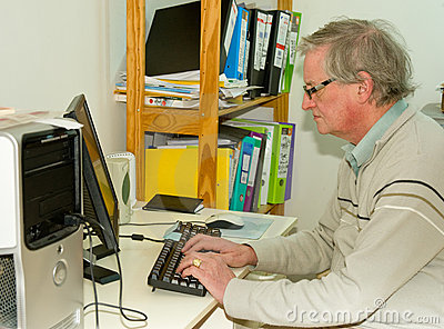Working from home: successful internet business.