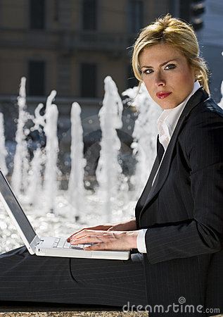 Free Working In The City Royalty Free Stock Image - 669456