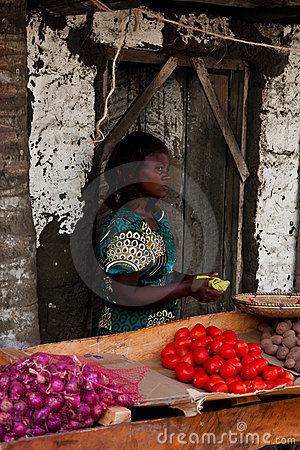 Working kenyan child,africa Editorial Photography