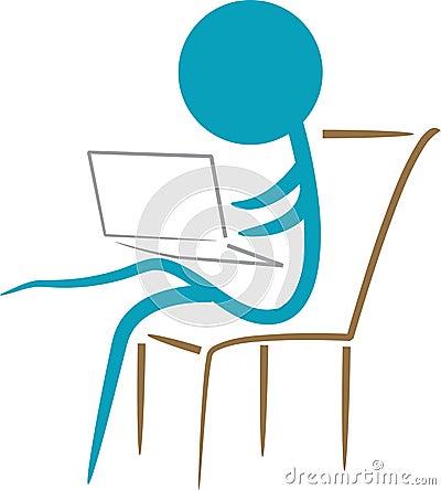 Working laptop