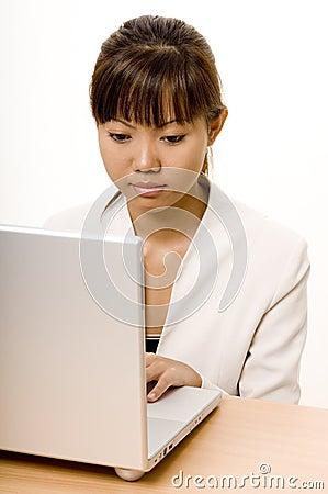 Working On Laptop 2