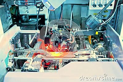 Working laser PCB processing machine