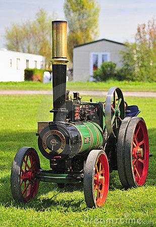 Working Model Traction engine (1/4 scale) Editorial Photography