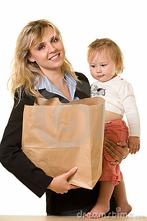 Free Working Mom Stock Images - 3616404