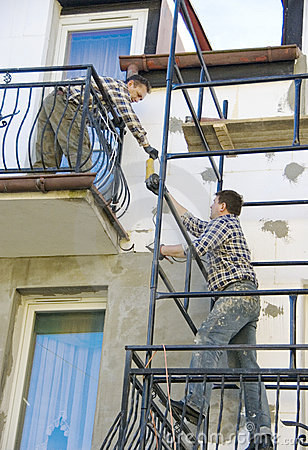 Working on scaffolding