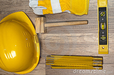 Working tools on a board
