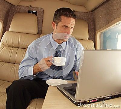 Working travel. Stock Photo