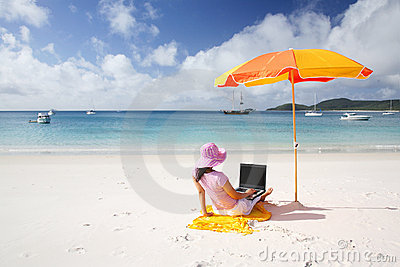 Working Woman at Whitsunday