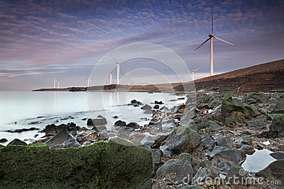 Workington Coastline Sunset