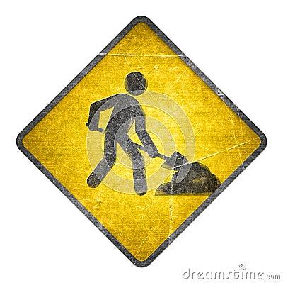 Workman Sign