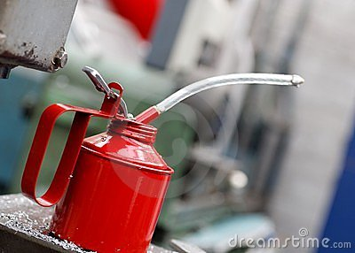 Workshop Oil Can