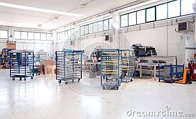 Workshop for polymer sealing