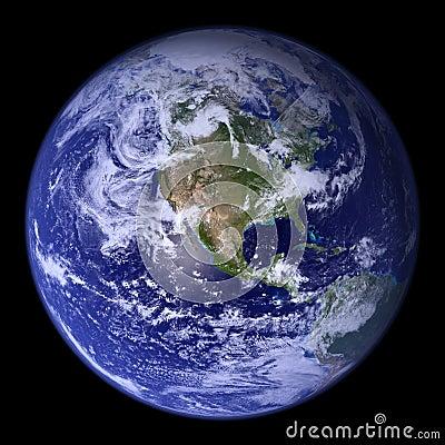 Free World 3d Globe. Royalty Free Stock Photography - 8362377