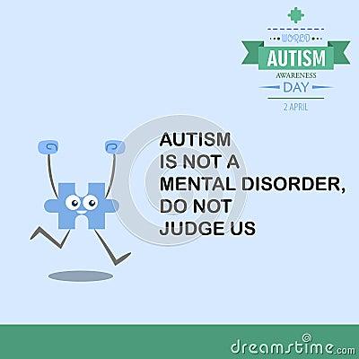 World autism awareness day 17 Stock Photo