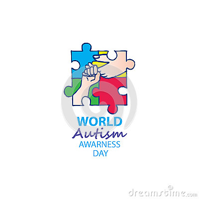 World autism awareness day Vector Illustration