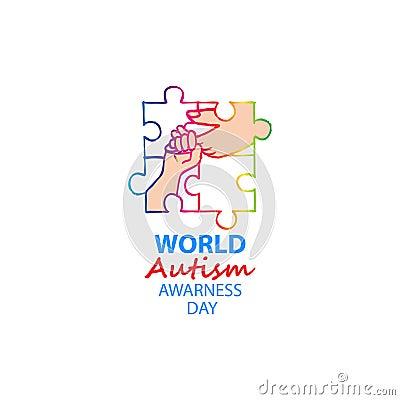 World autism awareness day Stock Photo